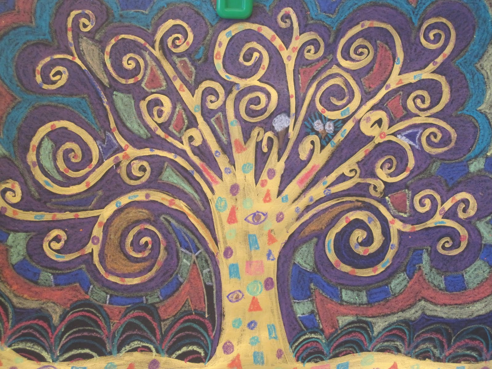 the clever feather our take on the klimt tree of lifequot
