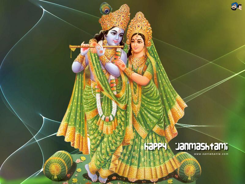 HINDU GOD  GODDESS RADHA KRISHNA WALLPAPER