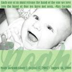 Remembering Noah