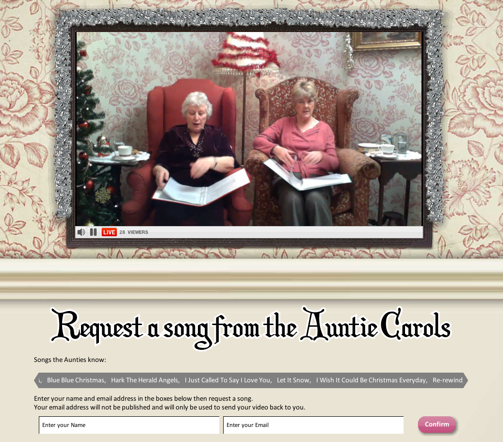 Cyberpac Blog Auntie Carols Sings Your Requests