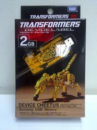 Transformers Device Label Cheetus
