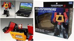 Transformers Device Label Broadblast Blaster USB Hub
