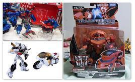 Transformers Animated OP, Elite Prowl & Armorhide