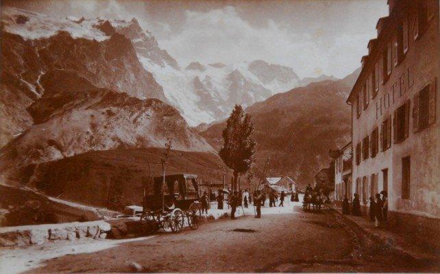 Meije, image zur le site de la bibliothèque Dauphinoise