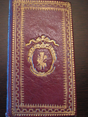 reliure maroquin almanach