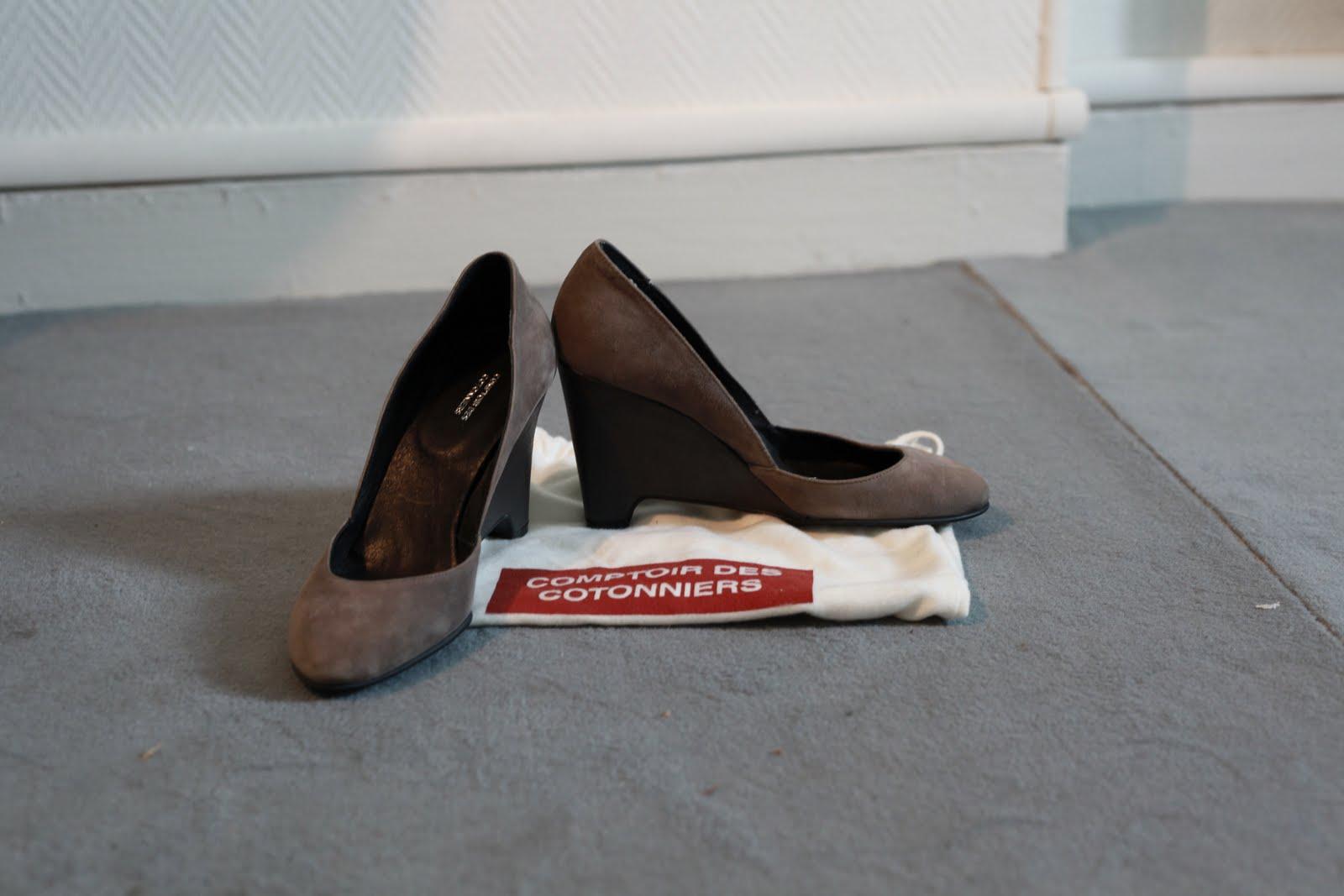 Le vide dressing de clara chaussures comptoir des cotonniers - Vide dressing comptoir des cotonniers ...