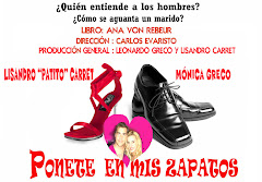 """"""" Ponete en mis zapatos"""" , comedia de Ana von Rebeur"""