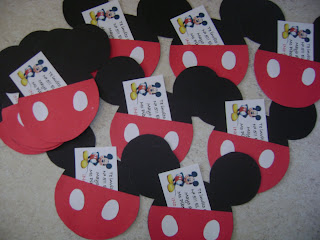 Cumpleaños infantiles de Mickey Mouse - Actividades para