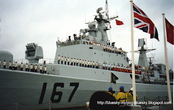 The Chinese Navy visits Britain