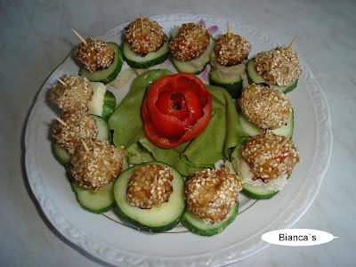 Articole culinare : Aperitive din chiftele