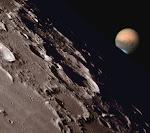 En la luna...