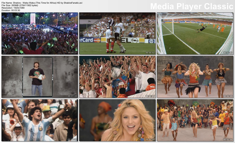 Шакира вака вака минусовка 4 фотография