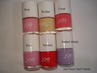 joe fresh nail polish