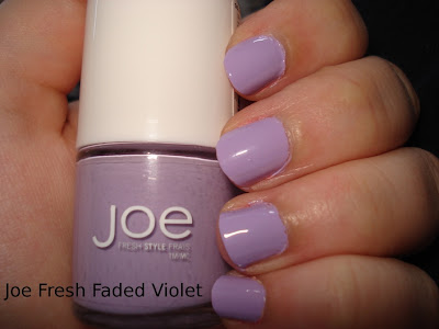 joe fresh faded violet