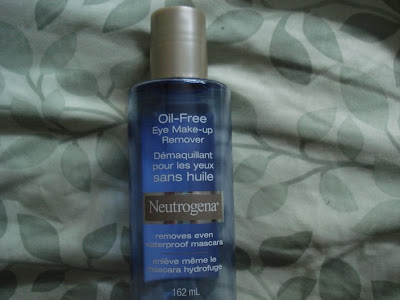 neutrogena eye makeup remover