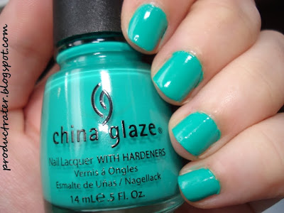 china glaze four leaf clover