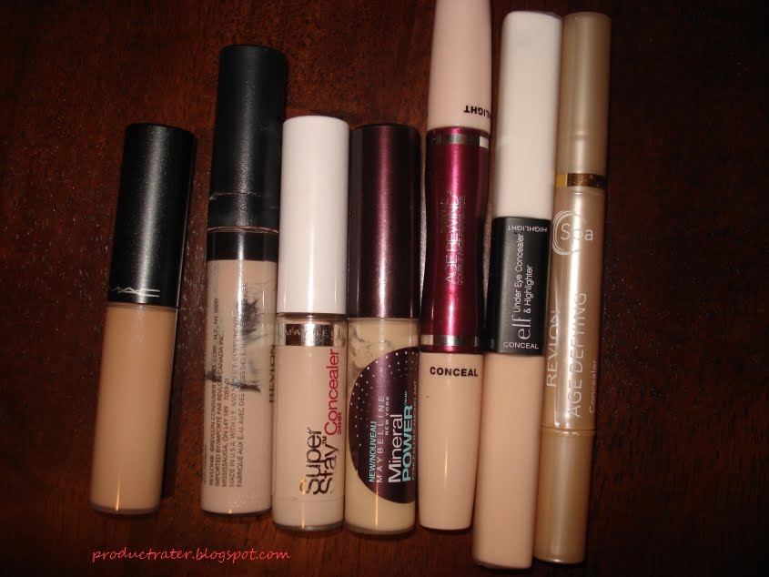 Productrater!: Beauty Tip: Finding the right undereye concealer shade