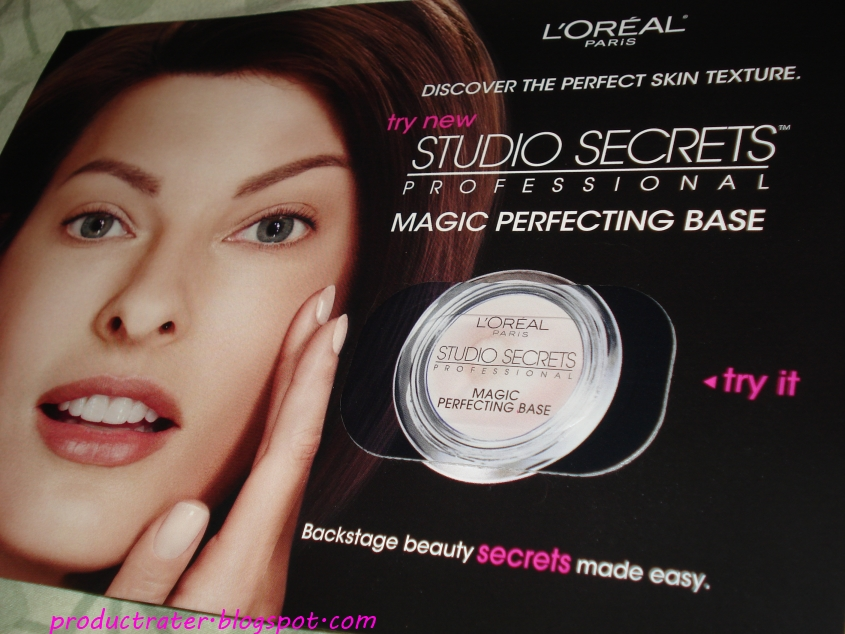 productrater review l 39 oreal studio secrets magic perfecting base. Black Bedroom Furniture Sets. Home Design Ideas
