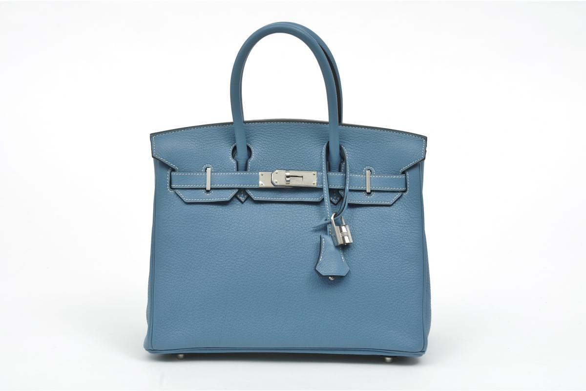 baggers club in love with herm s blue jean birkin. Black Bedroom Furniture Sets. Home Design Ideas