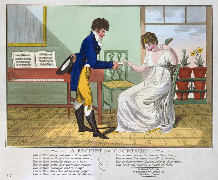 Two Nerdy History Girls: A man in love