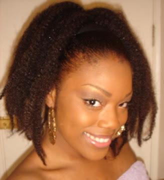 black women Ponytail hairstyle