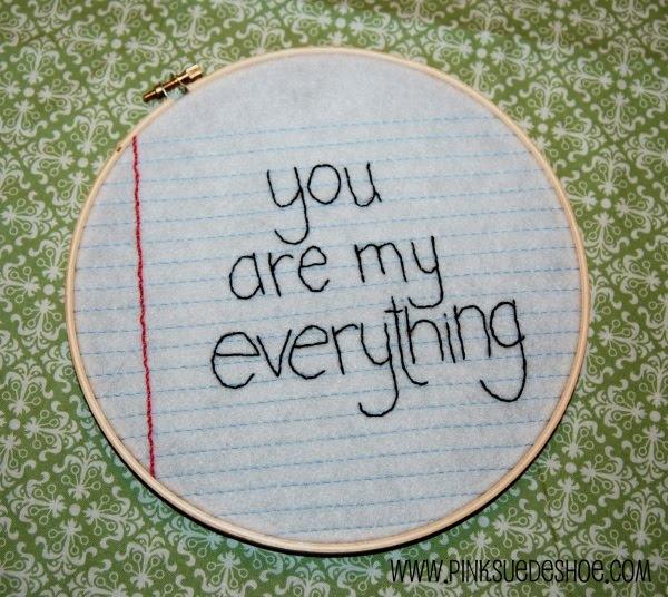 a cute love note