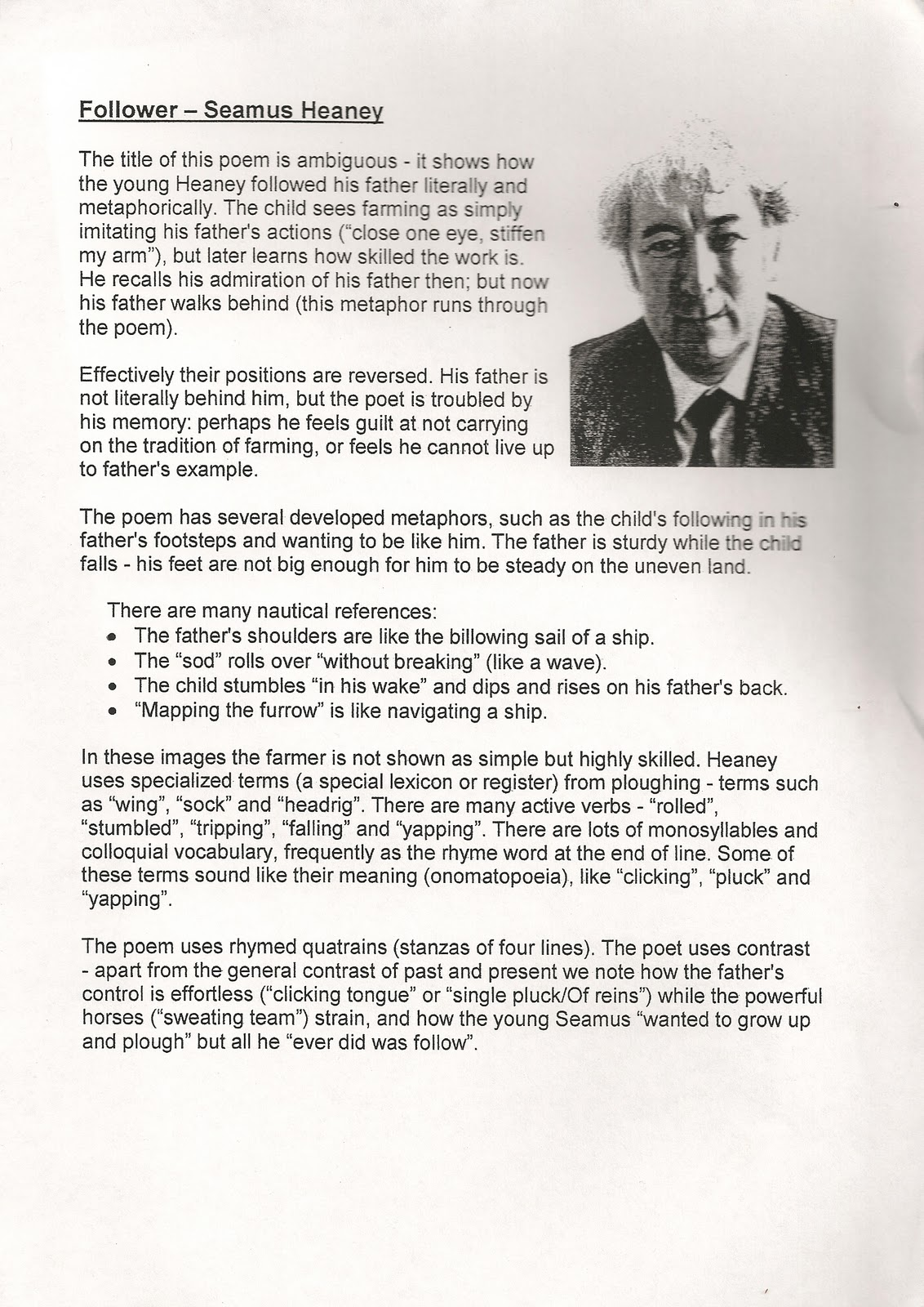 digging by seamus heaney essay digging seamus heaney was born on on