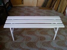 --------------------------------Banco para Vestiário modelo PAS-120 Branco R$290,00