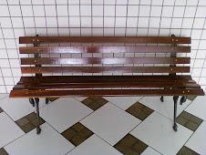 --------------------------------Banco de Jardim Tamanduá 8 Réguas PF-150 R$400,00