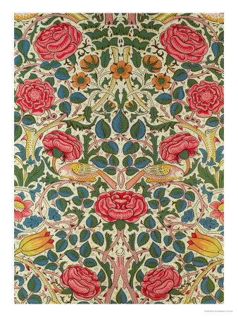 Rose 1883 by William Morris