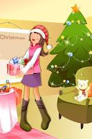 animated christmas cellphone wallpaper