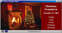 christmas countdown clock desktop wallpaper