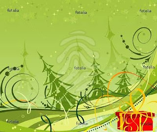 vector background with christmas desktop theme