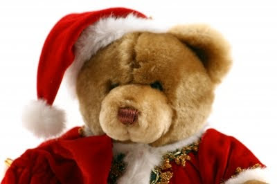 Christmas Teddy Bear Desktop Wallpapers