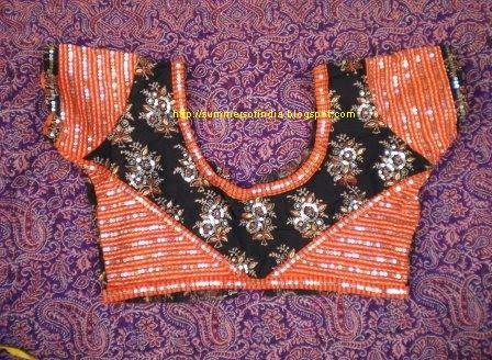 Blouse Backside Design Images 81