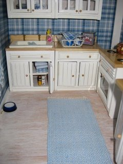 Kitchen on Dollhouse Kitchen  Image
