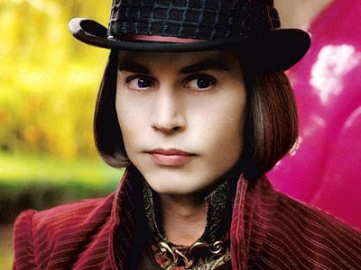 lot like willy wonka (johnny depp)?
