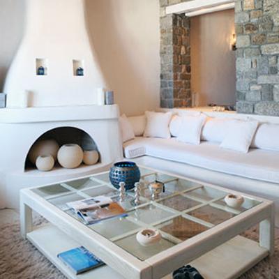 Simplicidad veraniega casas griegas etxekodeco for Decoracion casa griega