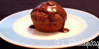 Gluten Free, The Gluten Free Scallywag, GF, recipe, chocolate, muffins, low fat,