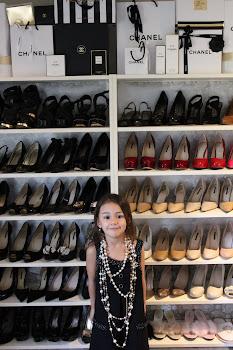 The SydneyStylist shoe closet