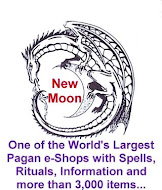 New Moon Pagan Wicca Witchcraft Occult Shop