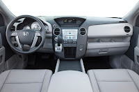 09 Honda Pilot EX-L Interior