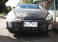 2009 Renault Megane & Laguna Spy Photos