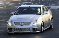Upcoming 2009 Cadillac CTS-V Records Sub-8 Minute Lap Time: Video