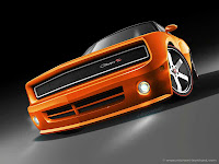 Dodge Charger Coupe Rendering