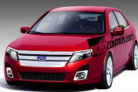 2010 Ford Fusion Photo Renderings