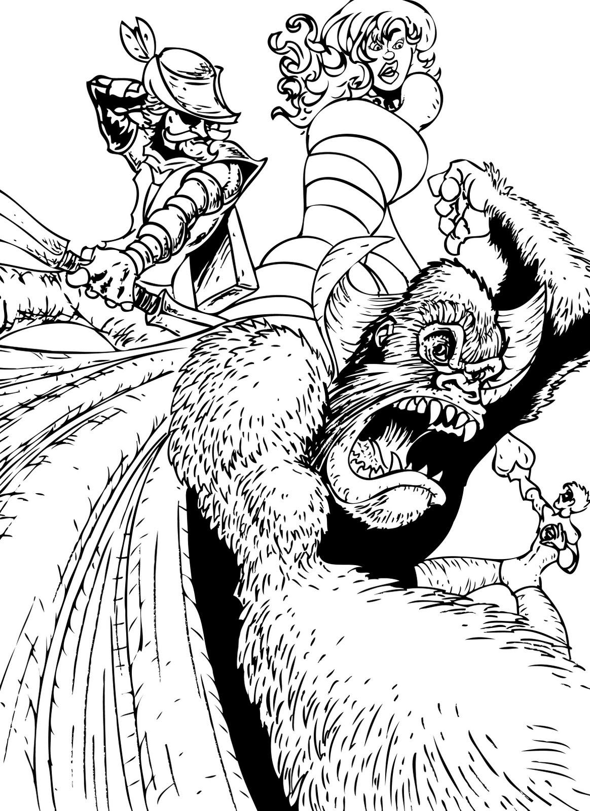 Gorilla Grodd Coloring Pages Coloring