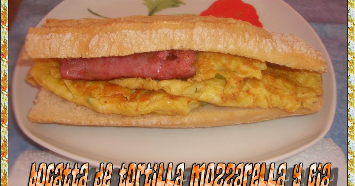 La cocina de maetiare bocatta de tortilla mozzarella y cia - Cocina y cia ...