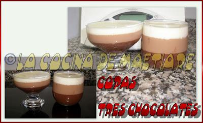 TARTA 3 CHOCOLATES Copa+tres+chocolates