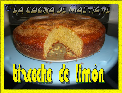Bizcocho de limón BIZCOCHO+DE+LIMON